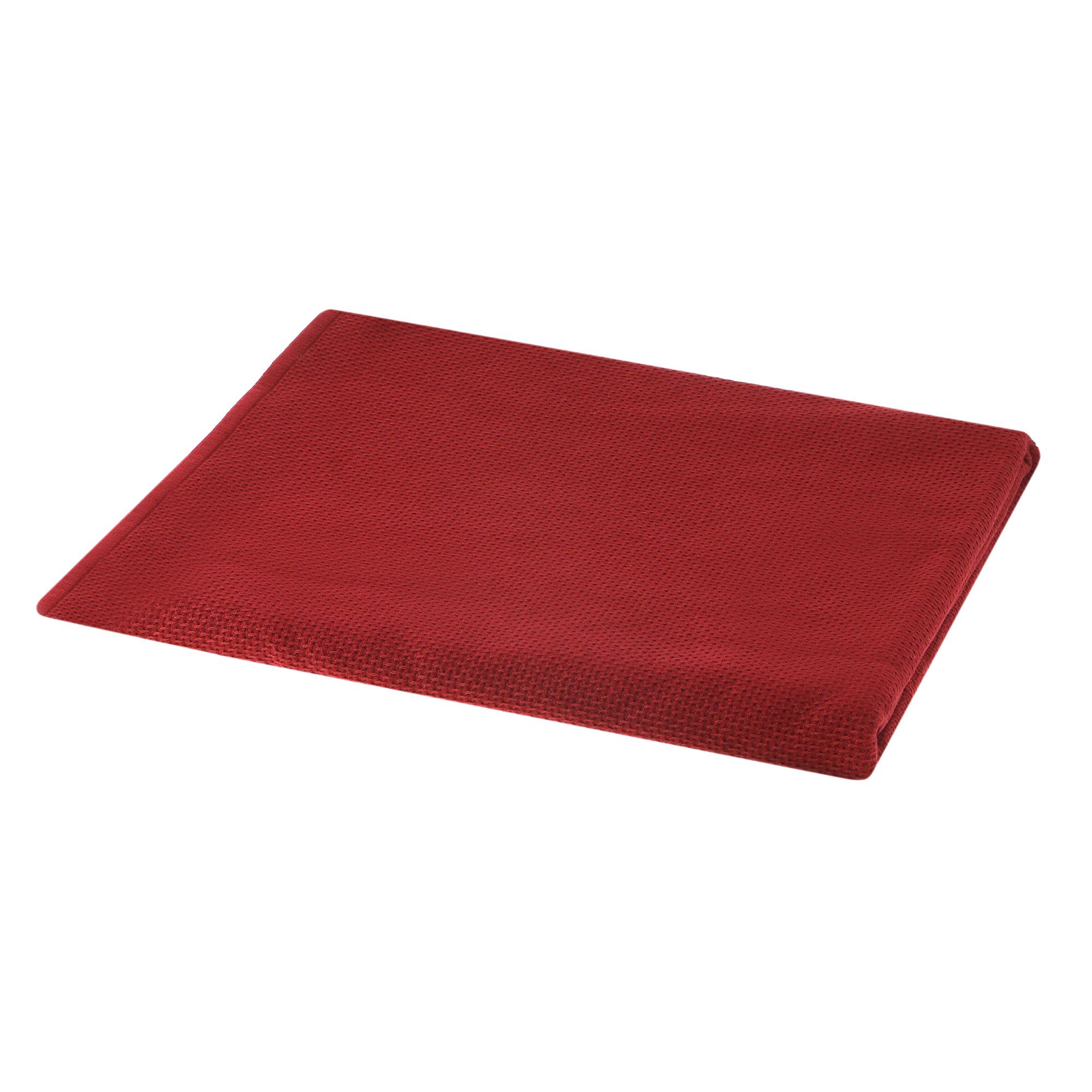 Полотенце двухстороннее Asil 50x100 d.red.