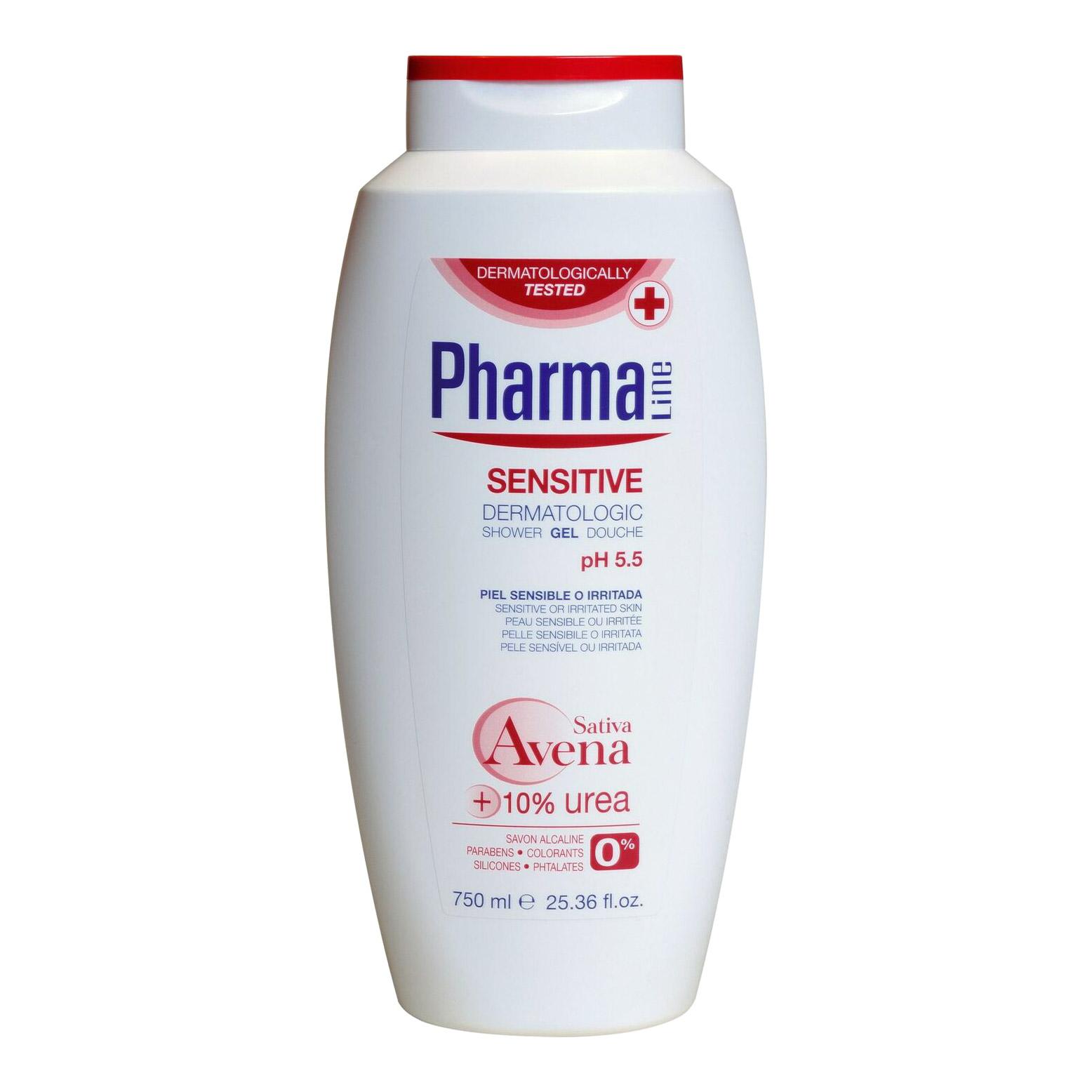 Гель для душа Pharmaline для чувствительной кожи 750 мл фото