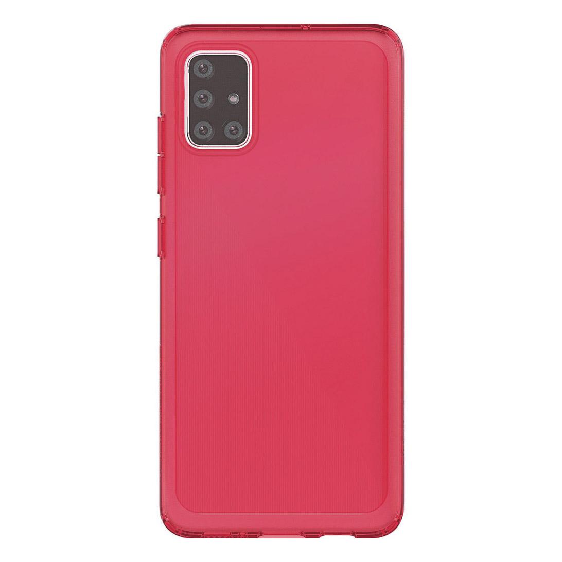 Чехол Araree Typo Skin для Samsung Galaxy А51, красный