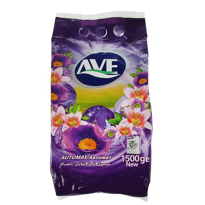 Cтиральный порошок Ave для всех видов тканей автомат 1,5 кг недорого