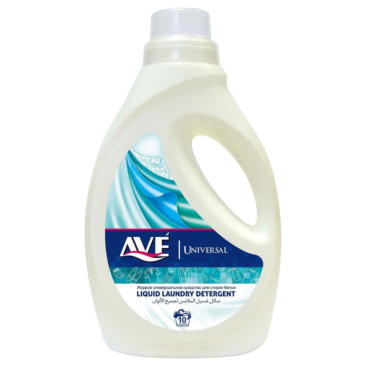 Жидкое средство для стирки AVE для всех видов ткани 1 л недорого