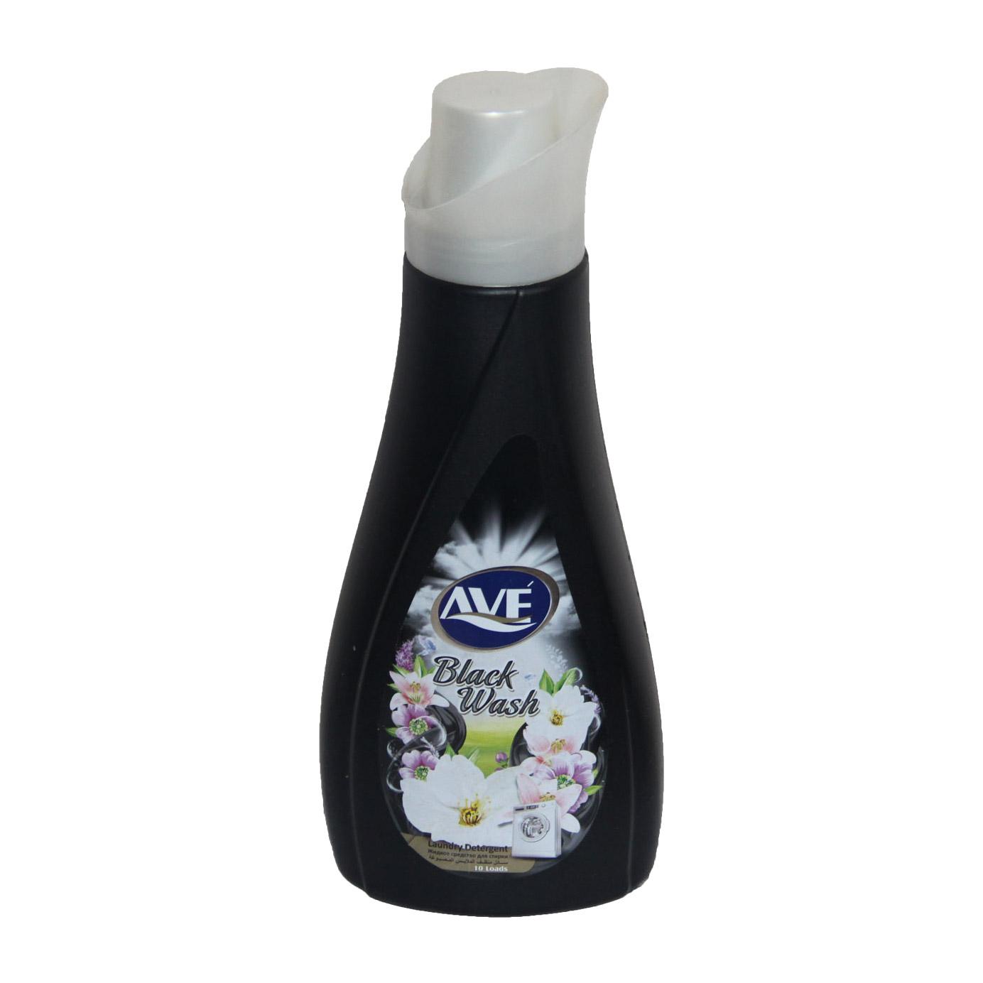 Жидкое средство для стирки AVE Black Wash для темных и черных вещей 1 л недорого