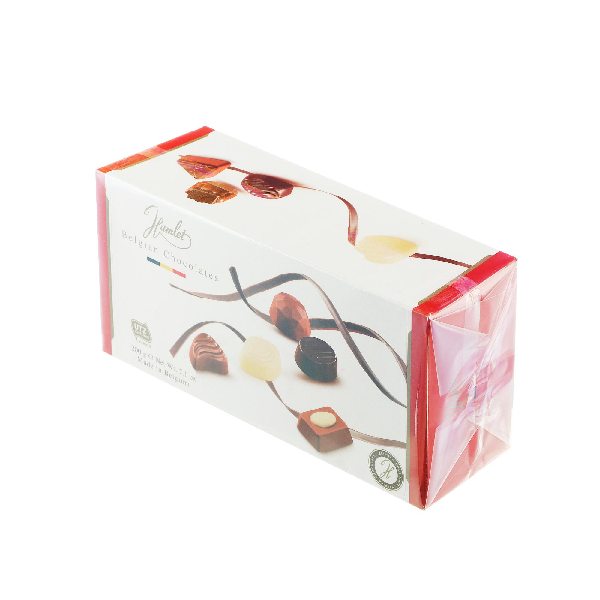 Конфеты шоколадные Hamlet Belgian Chocolates 200 г
