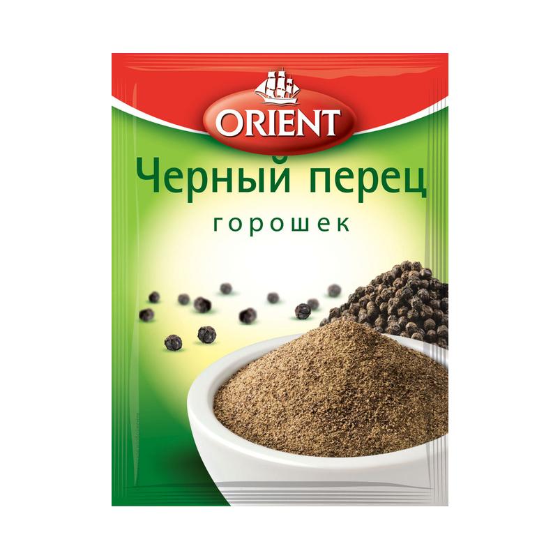 Фото - Перец черный горошек Orient 10 г перец душистый orient горошек 10 г