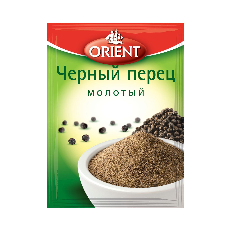 Фото - Перец черный молотый Orient 10 г перец душистый orient горошек 10 г
