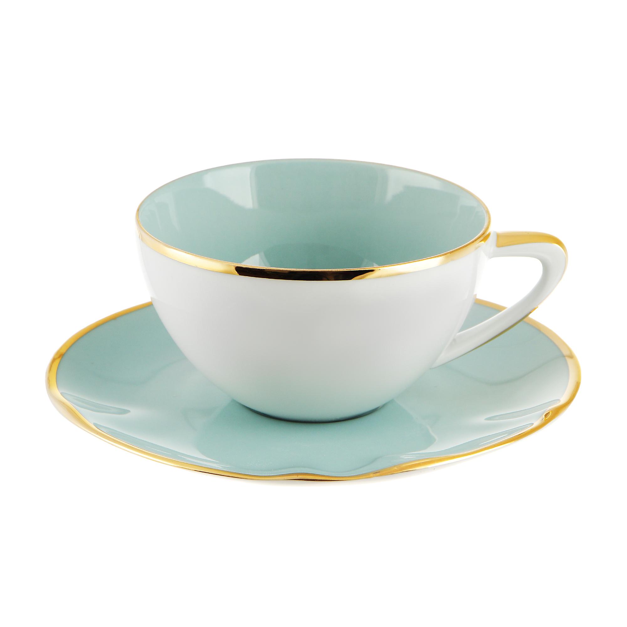 Сервиз чайный Spal Aqua Gold 4 предмета