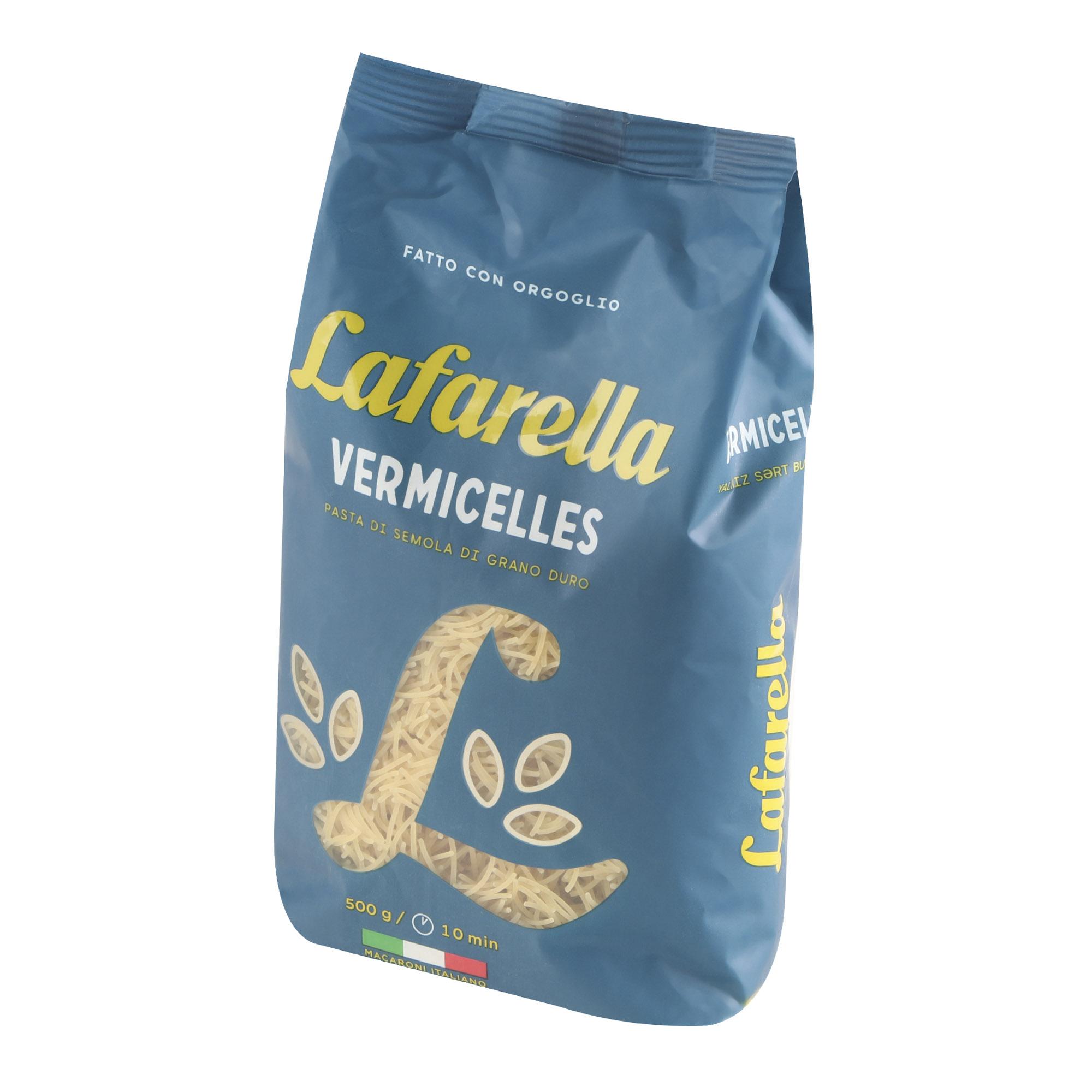 Макароны Lafarello Вермишель 500 г макароны arrighi ньокетти 500 г