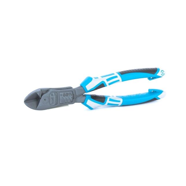 Бокорезы Gross усиленные 215мм трехкомпонентные рукоятки бокорезы gross диэлектрические рукоятки до 1000в 180 мм