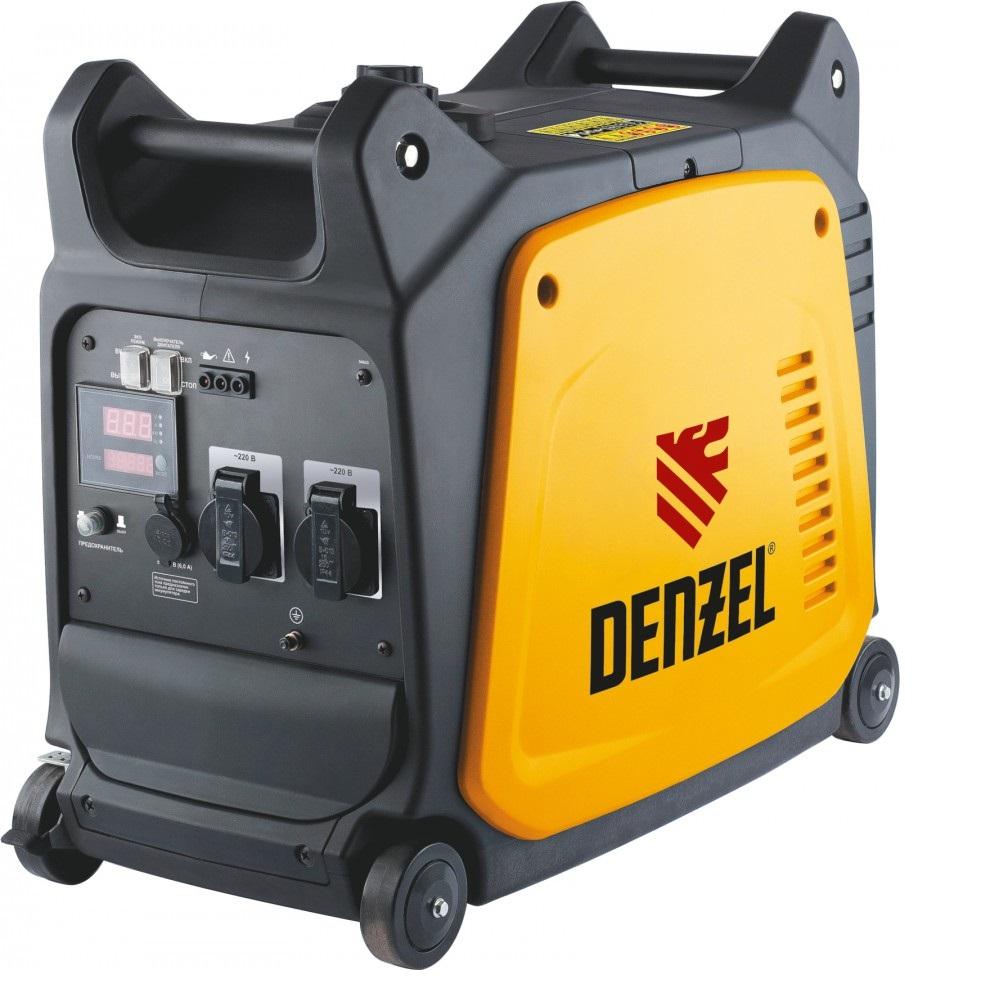 Генератор инверторный Denzel GT-2600i 2,6 кВт 220В