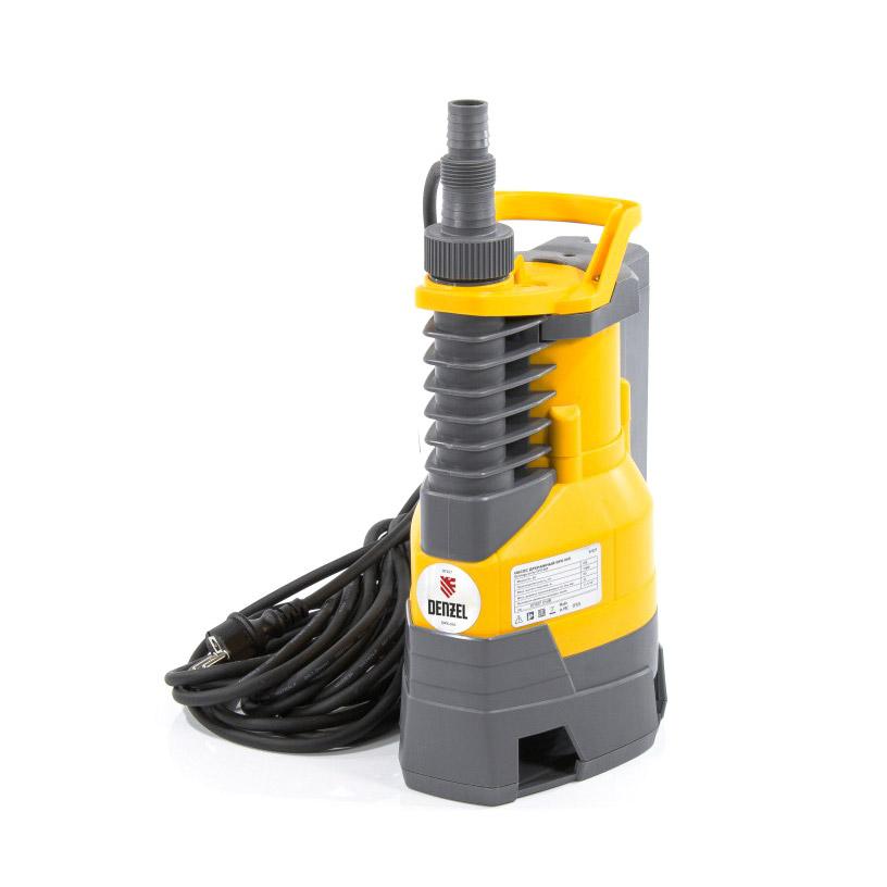 Насос дренажный Denzel DPХ950 950 Вт 8,5м 15500 л/ч дренажный насос denzel dp450s 450 вт