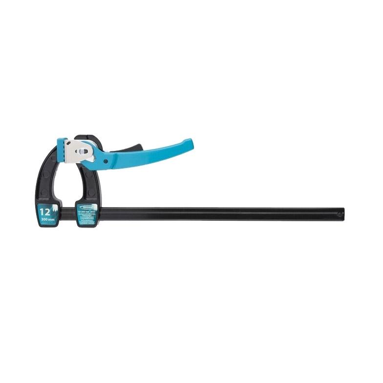 Струбцина реечная Gross быстрозажимная рычажный храповый механизм 12/ 300мм струбцина fit 59202