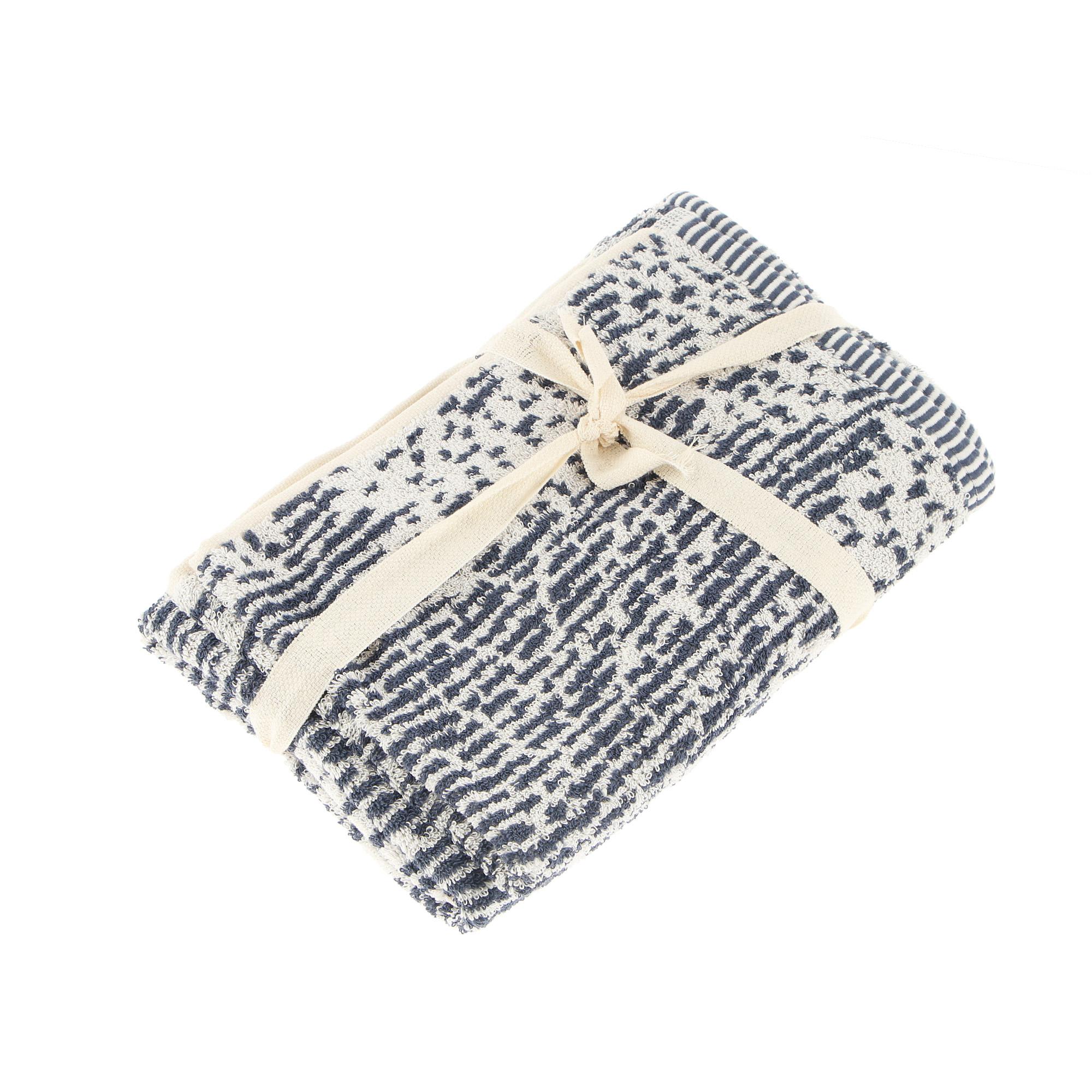 Набор полотенец Cogal omega 40х60+60х100 blu jeans фото