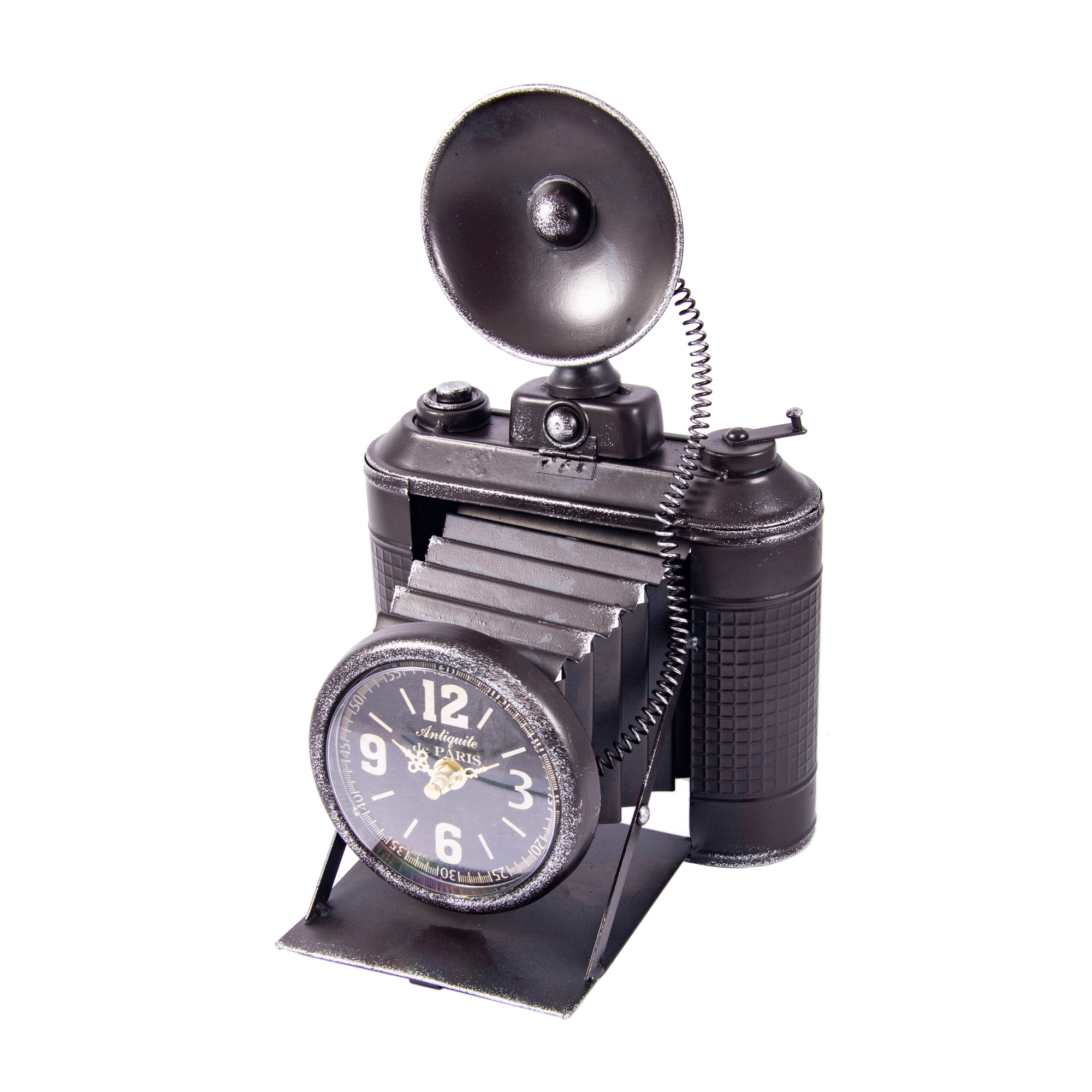 Часы Фотокамера настольные Русские подарки 26х16х38см фото