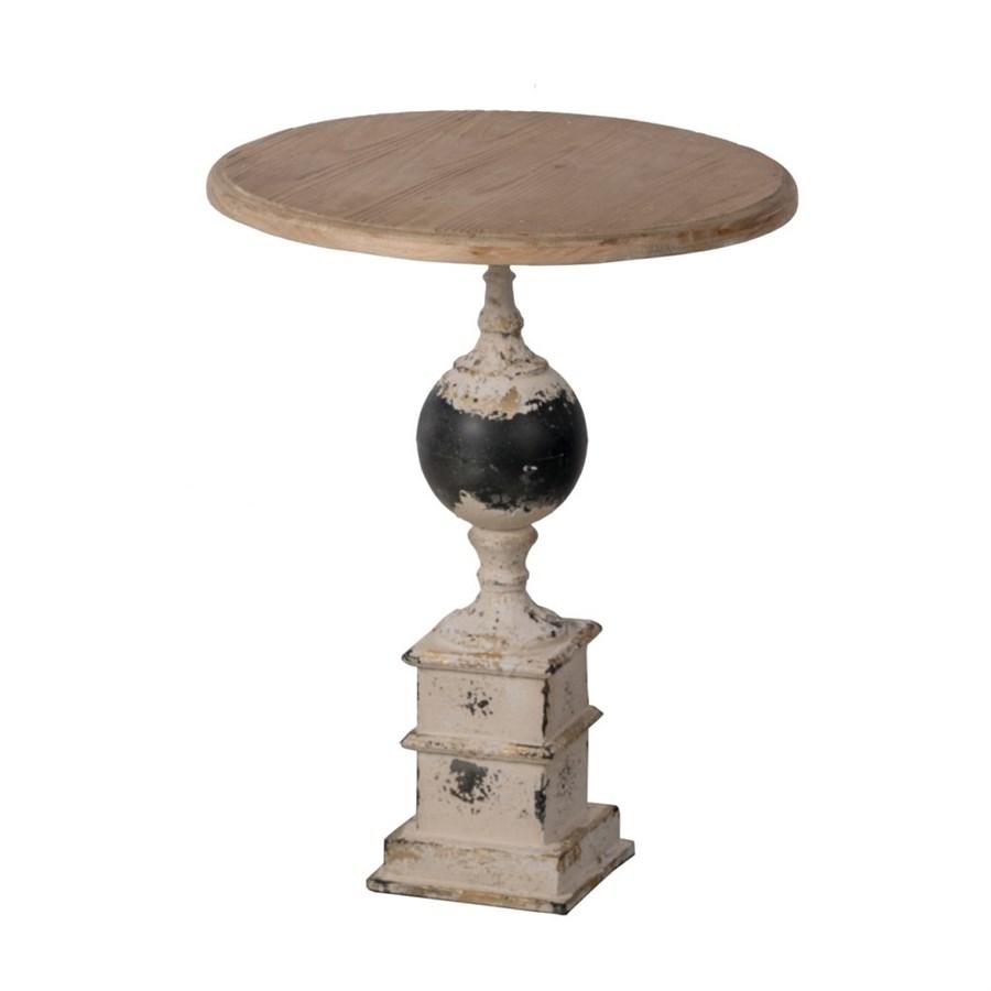 Столик кофейный в винтажном стиле Glasar 47x47x59 см liberty home кофейный столик duval gold