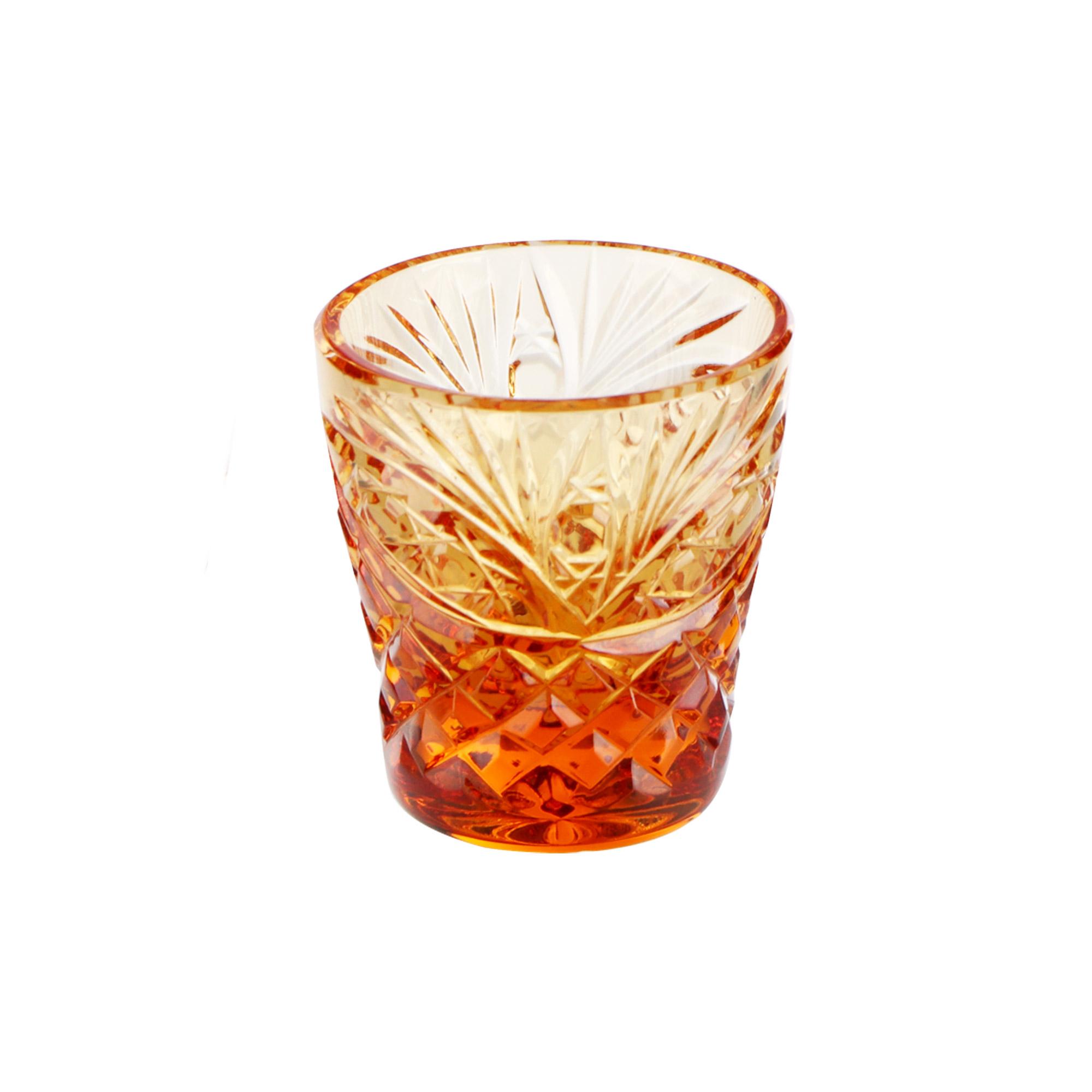 Набор стаканов Гусевской хрустальный завод 40 мл 6 шт фото
