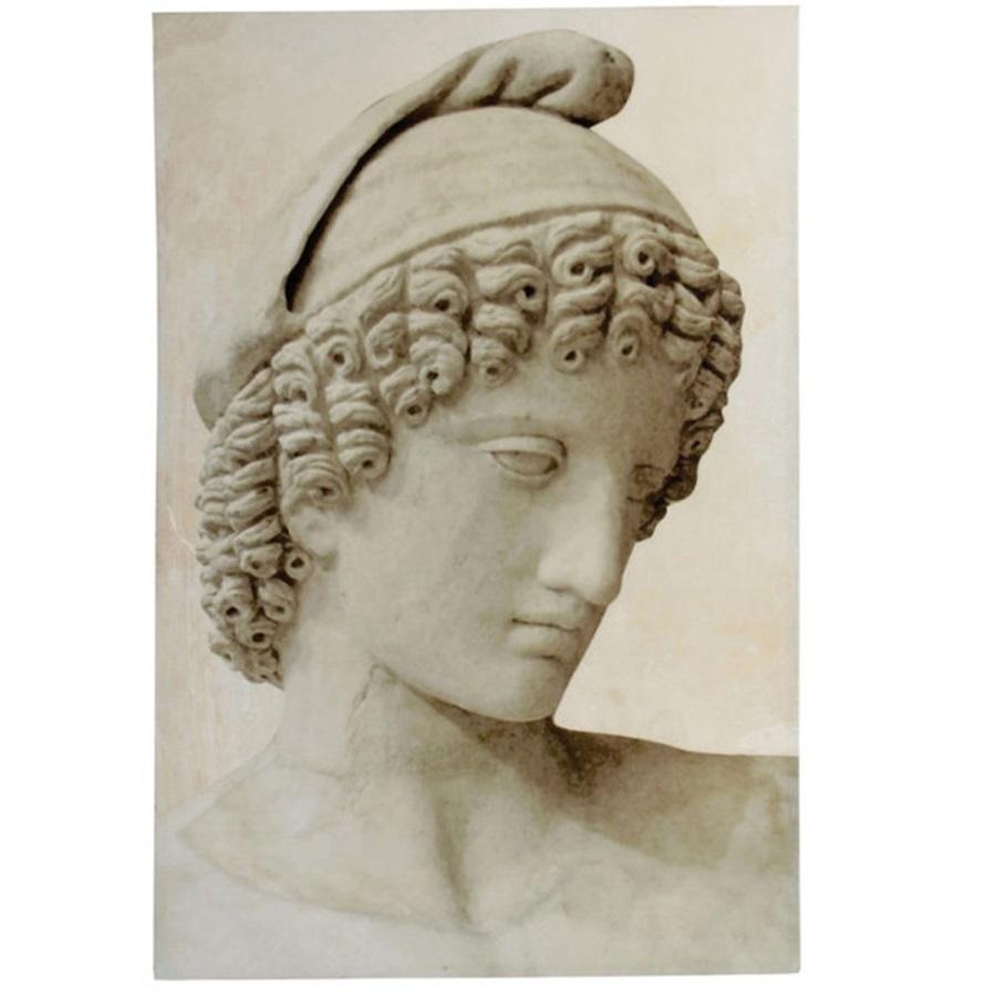 Картина Glasar с изображением античной скульптуры 80х4х120см