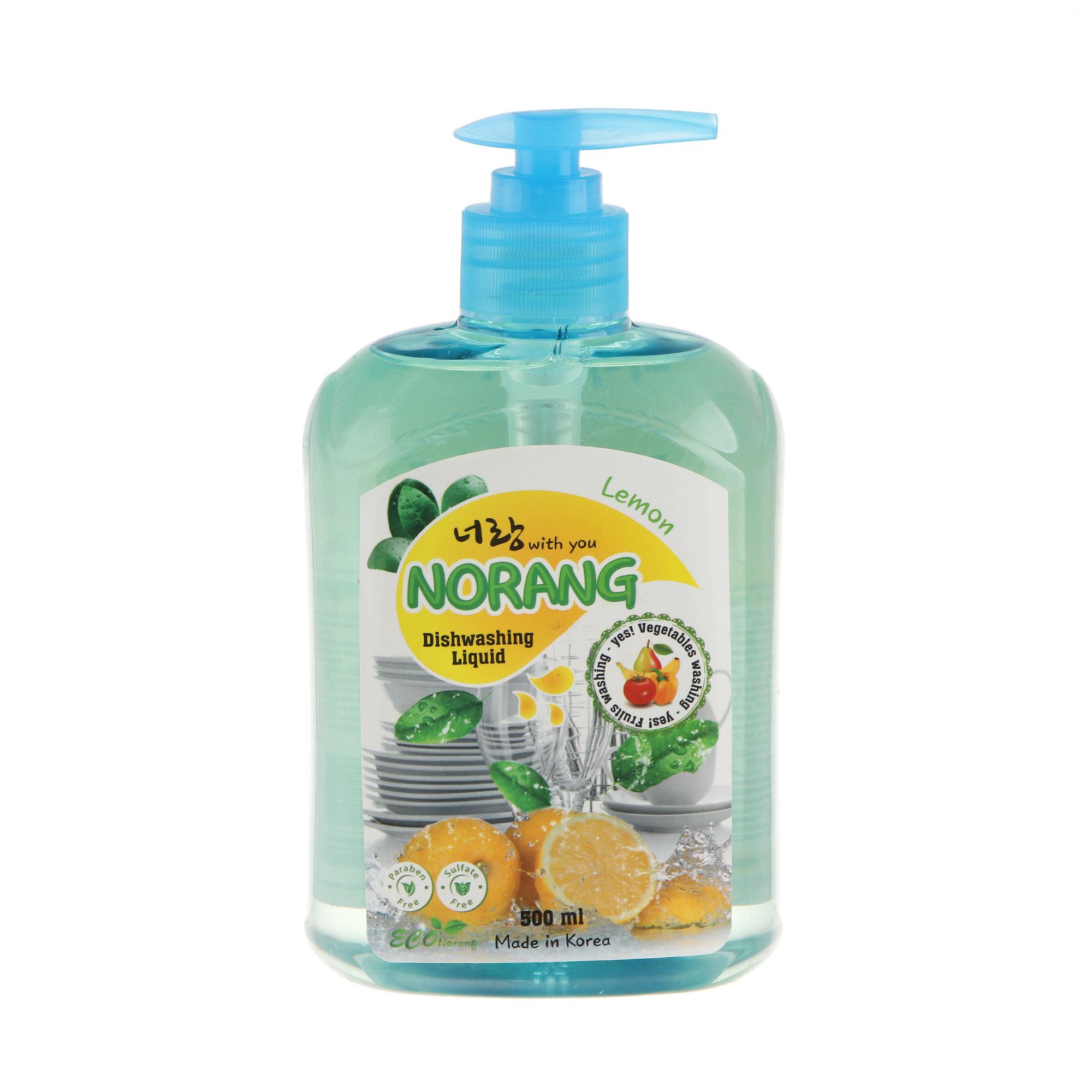 Жидкость для мытья посуды Norang лимон 500 мл фото