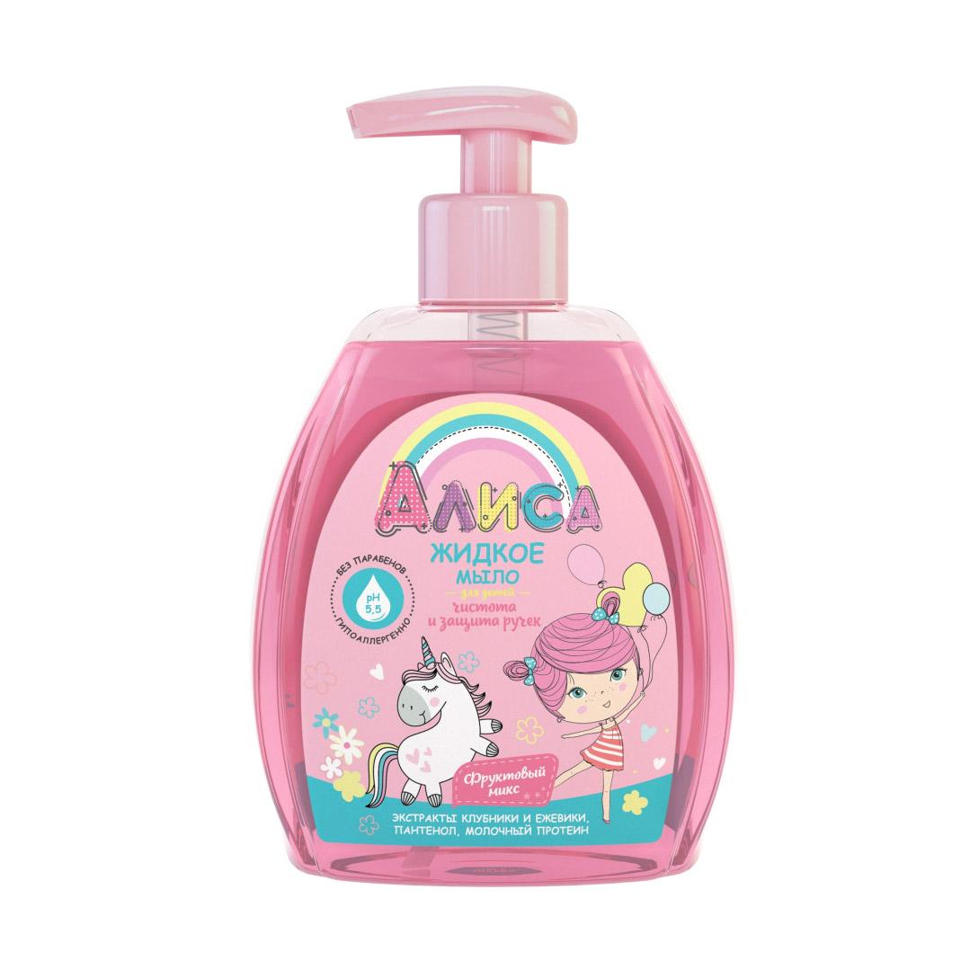 Фото - Жидкое мыло чистота и защита ручек Алиса 300 мл свобода крем мылоsvoboda baby длямладенца 250 мл