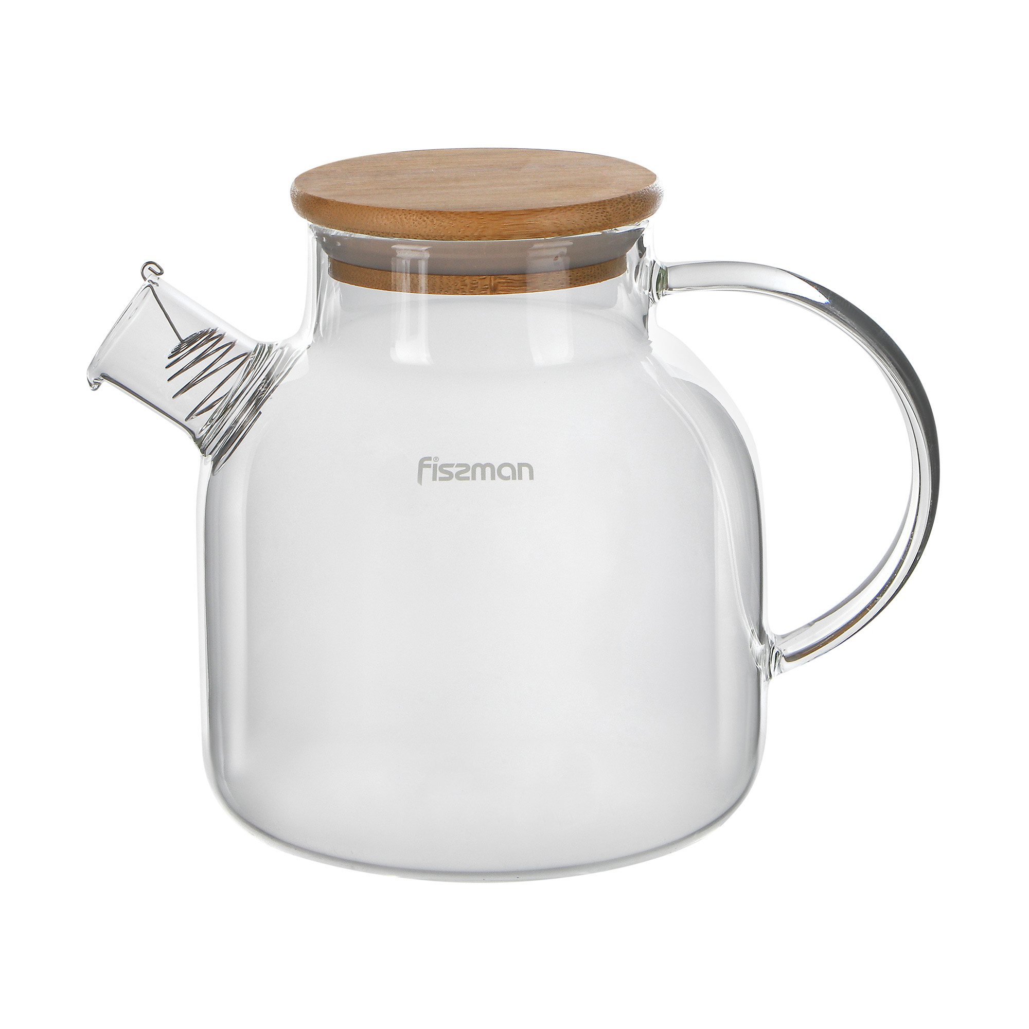 Заварочный чайник Fissman с фильтром 1,2 л фото