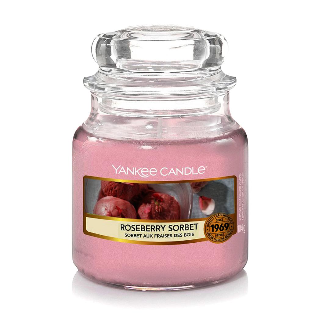 Свеча малая Yankee Candle Земляничный сорбет фото
