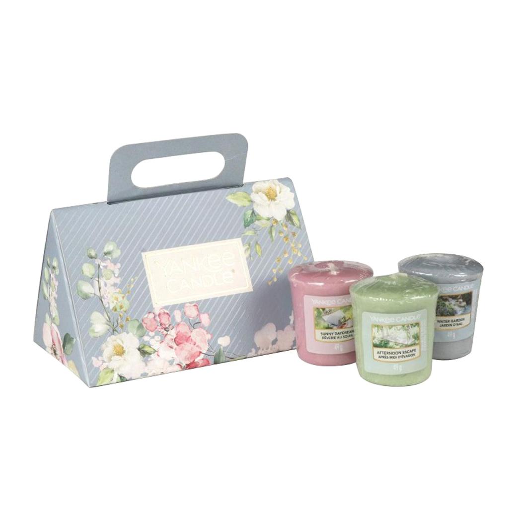 Набор аромасвечей Yankee Candle для подсвечника 3 шт набор yankee candle романтика для малых свечей