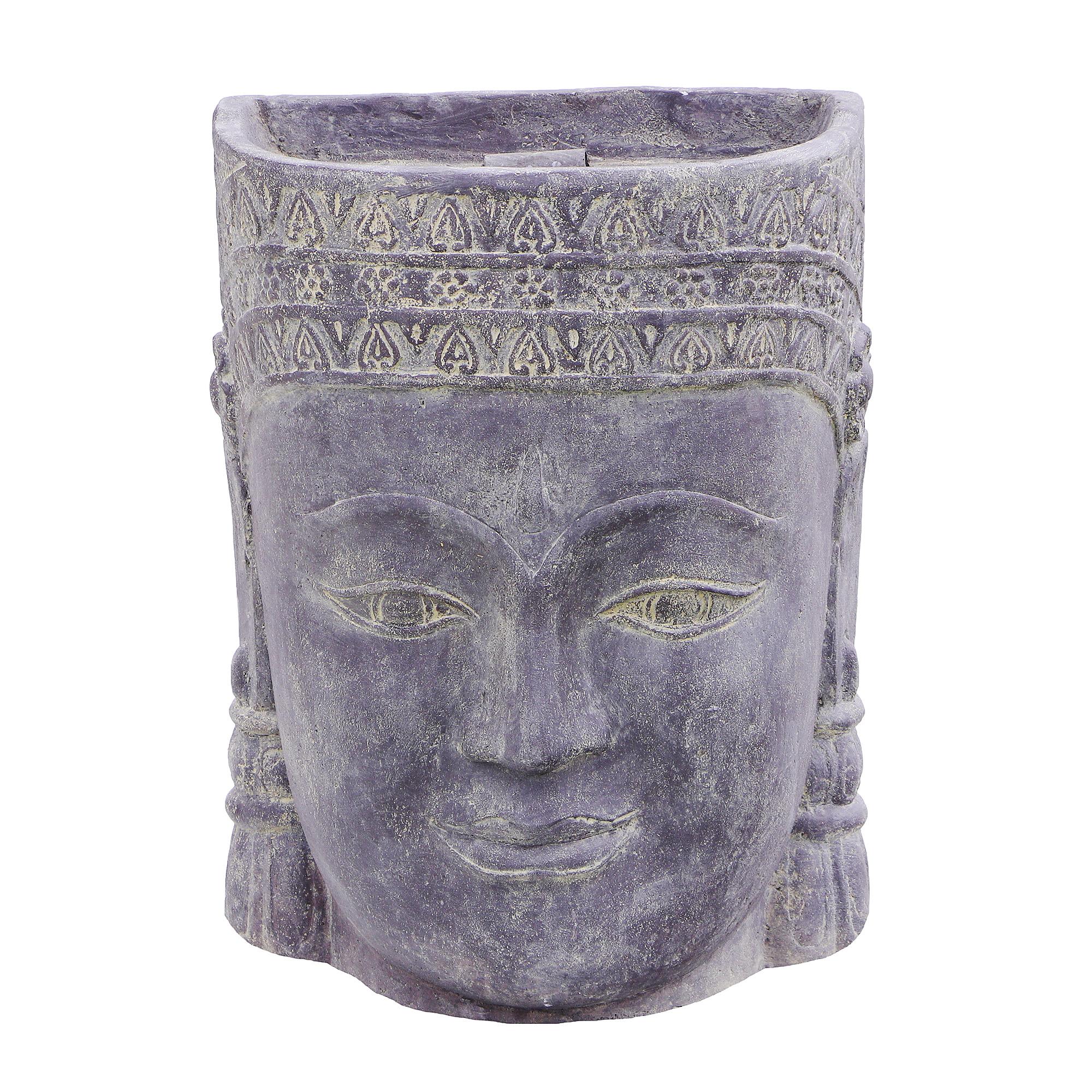 Декор садовый Asia style голова Кхмерки 67х67х21 см