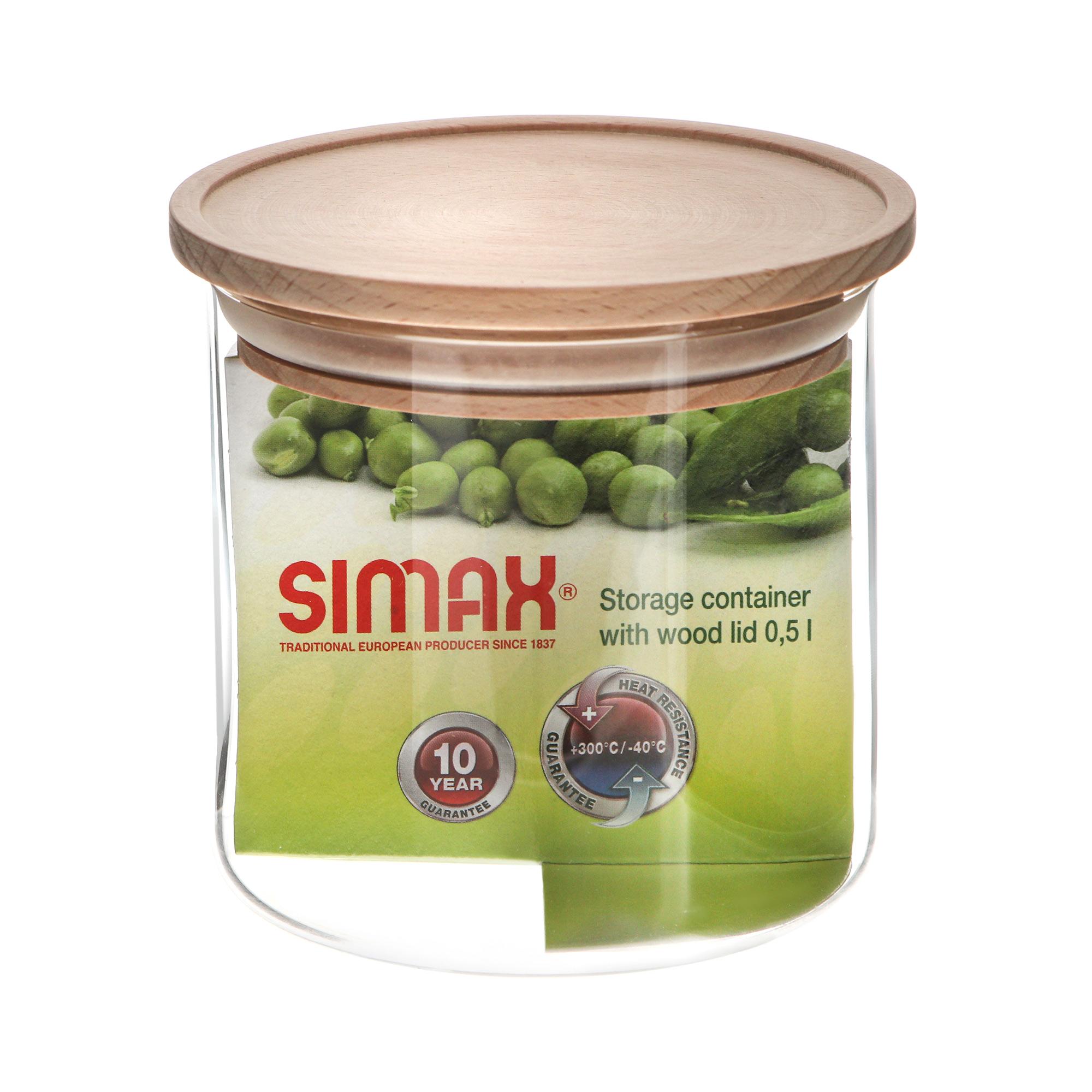 Фото - Банка для хранения Simax Classic 500 мл миска simax simax classic 1 5л жаропрочное стекло л5899
