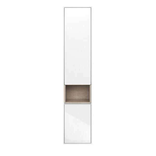Пенал Kerama marazzi plaza modern 170 см, 2 дверцы, цвет белый недорого