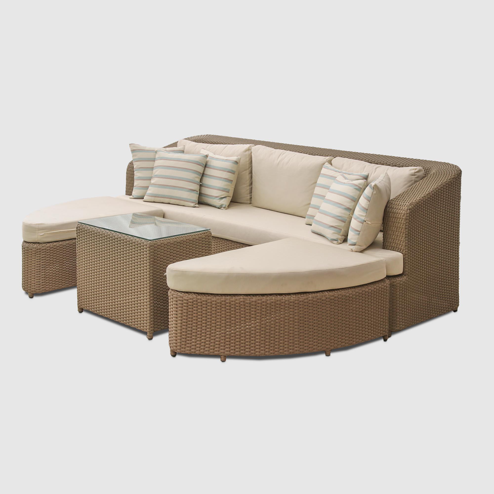 Комплект мебели Mavi Rattan 078dk пуфы
