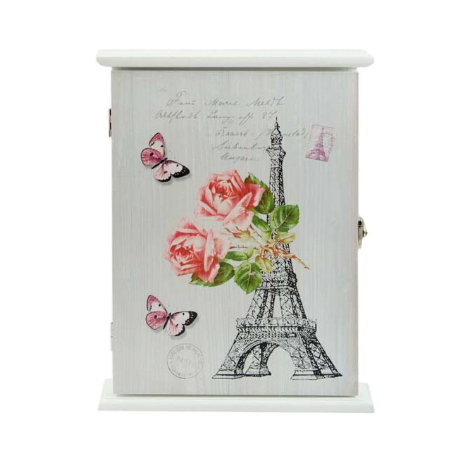 Ключница Русские подарки Парижская романтика 6х30х32 см ключница art east охота 29 33 см