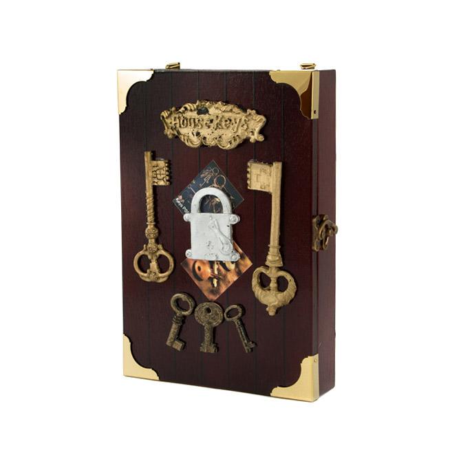 Коллаж-ключница Русские подарки Ключики 17x5x25 см lefard ключница abilene 5х26х26 см