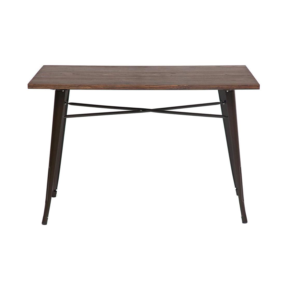 Стол SDM коричневый 120х80х78 см