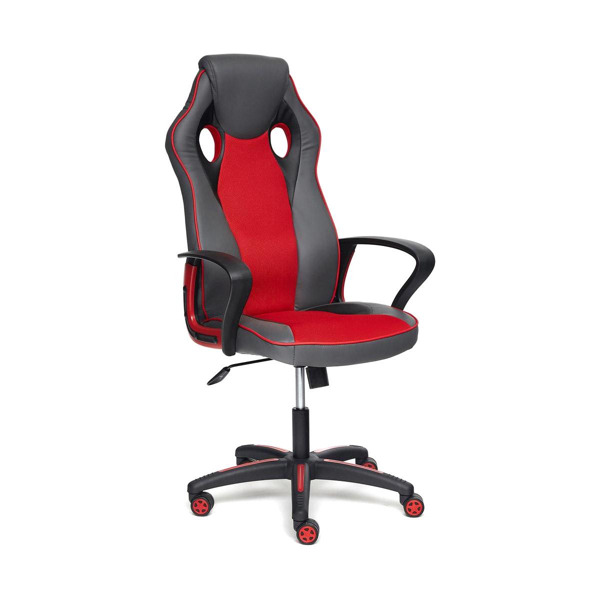 Кресло компьютерное TC металлик/красный 134х67х47 см кресло компьютерное tc черное 95 5х59х57 см