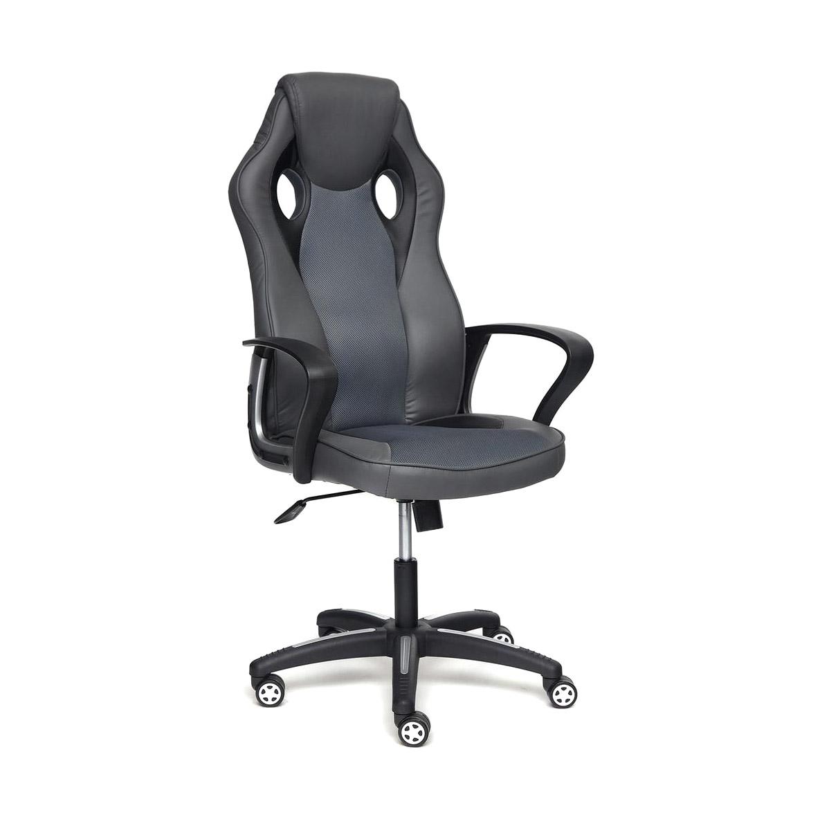 Кресло компьютерное TC металлик/серый 134х67х47 см кресло компьютерное tc черное 95 5х59х57 см