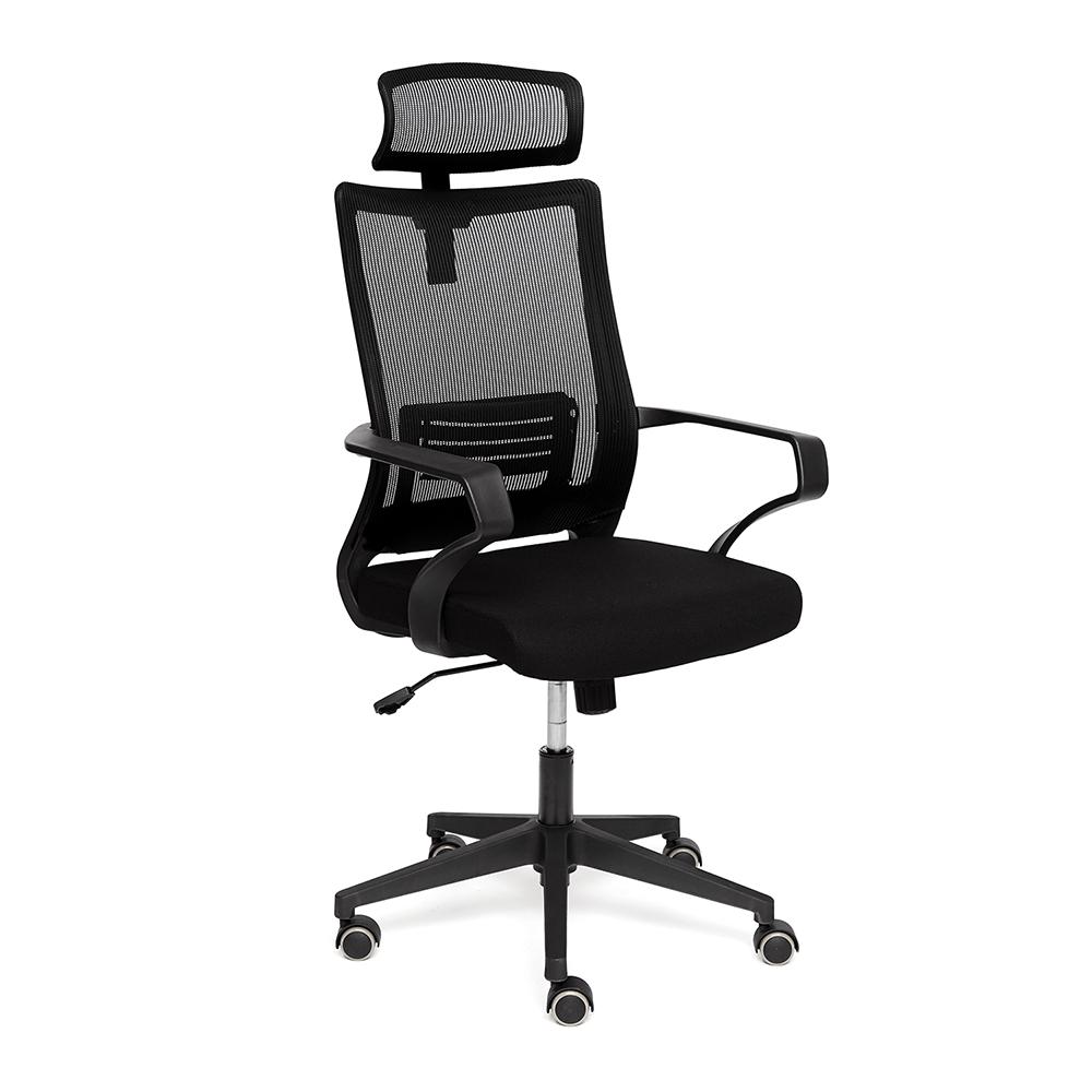 Кресло компьютерное TC черное 108х60х47 см кресло компьютерное tc черное 95 5х59х57 см