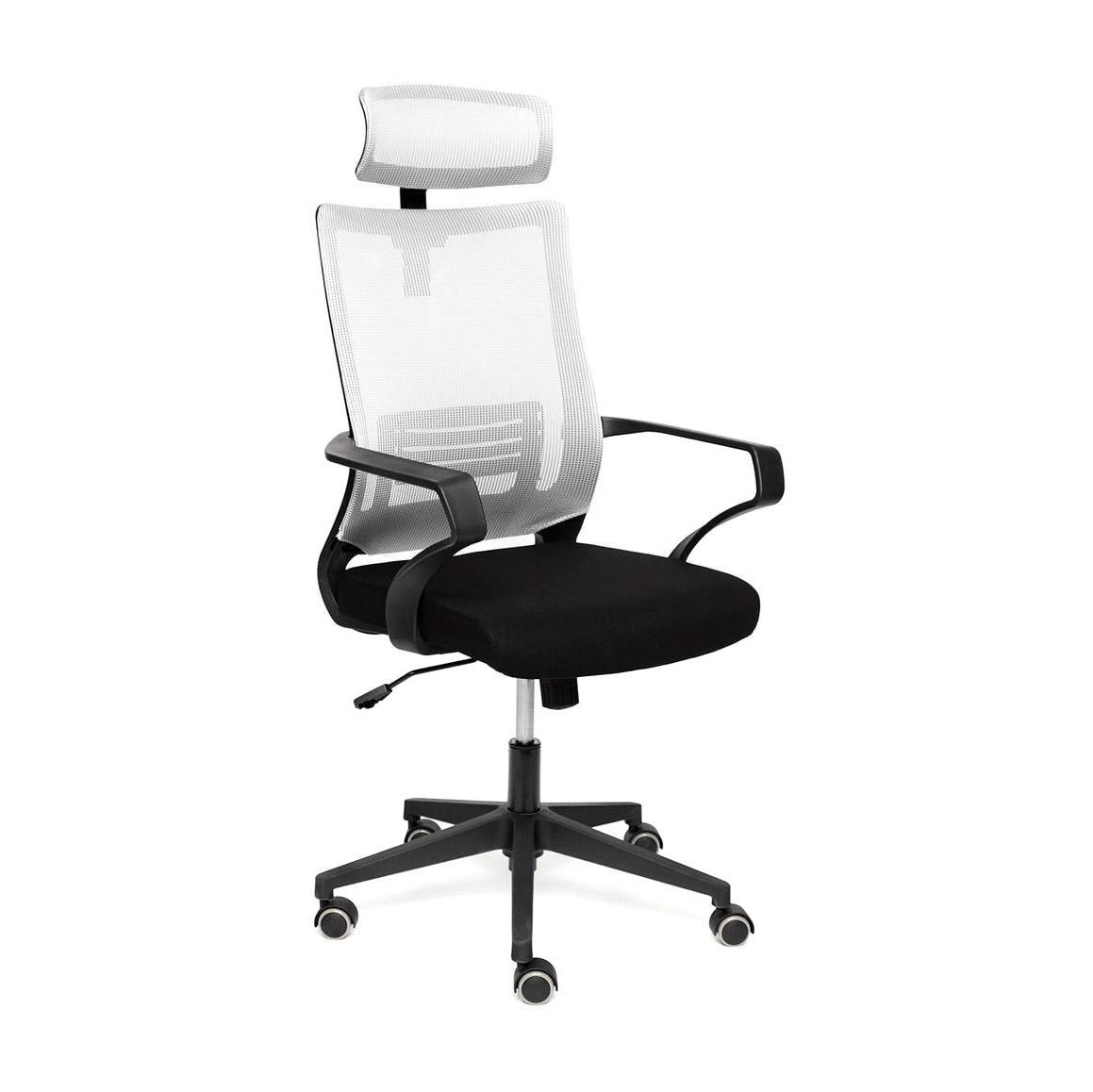 Кресло компьютерное TC черный/серый 108х60х47 см