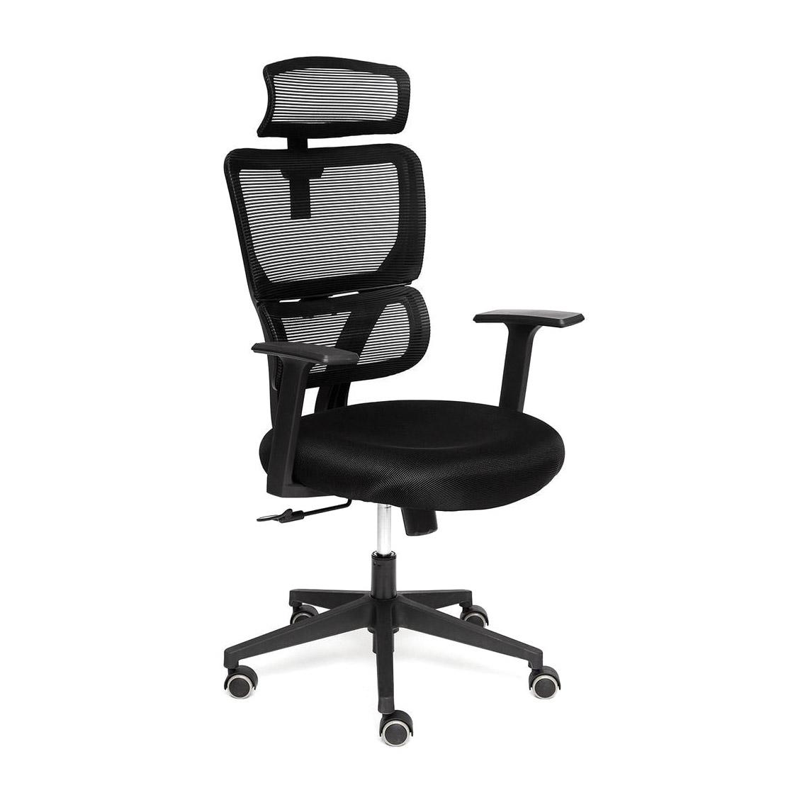 Кресло компьютерное TC черное 105х64х50 см кресло компьютерное tc черное 95 5х59х57 см