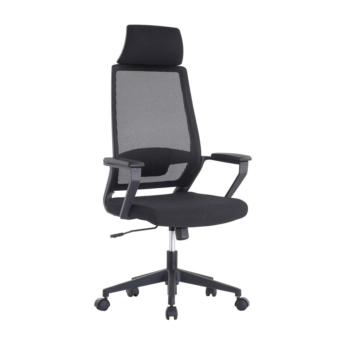 Кресло компьютерное TC черное 129,5х55х51 см кресло компьютерное tc черное 95 5х59х57 см