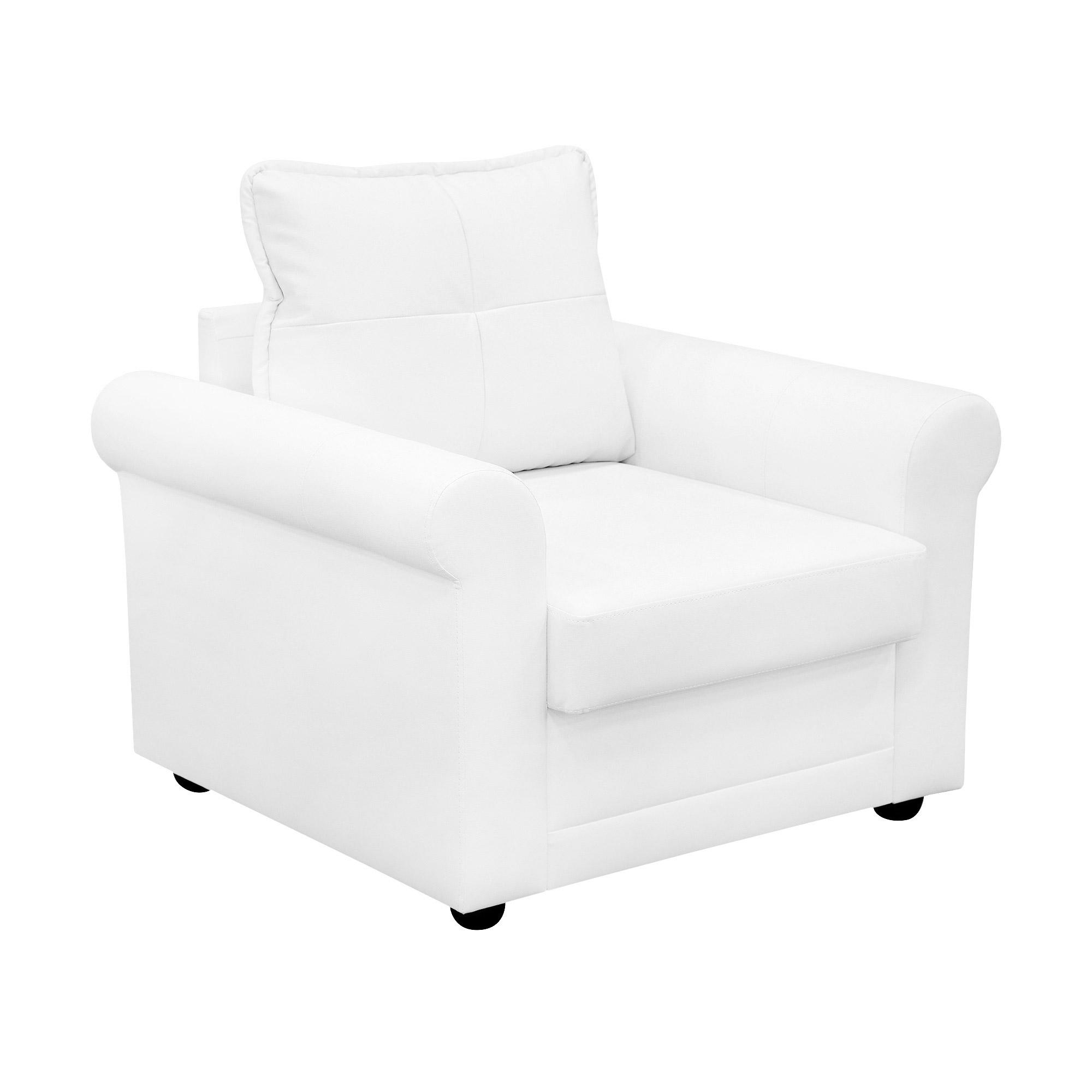 Кресло ФС Нири натуральная кожа бежевое 96x89x86