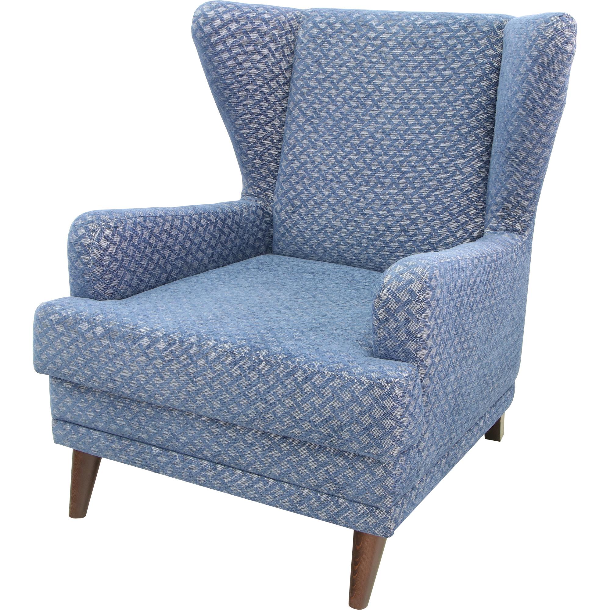 Кресло ФС неваех 74x90x91 синее без механизма