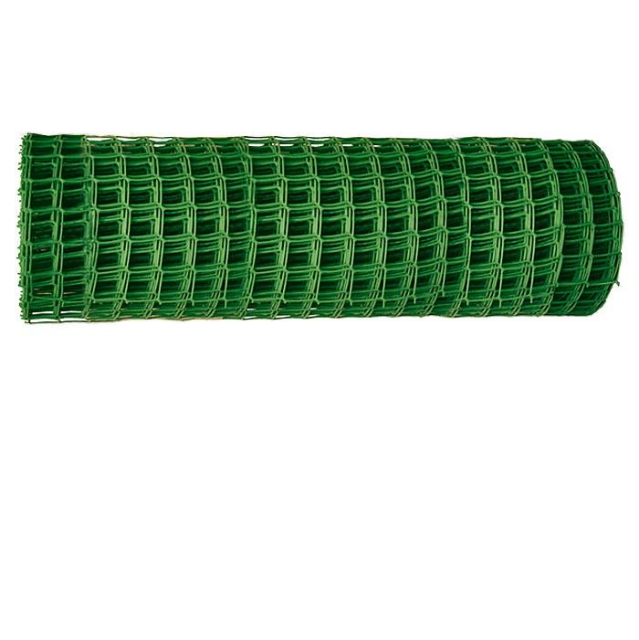 Решетка заборная в рулоне Ми 1х20 м, ячейка 15х15 мм сетка пластиковая садовая квадрат желтая ср 15 1 20 15х15 мм 1х20 м