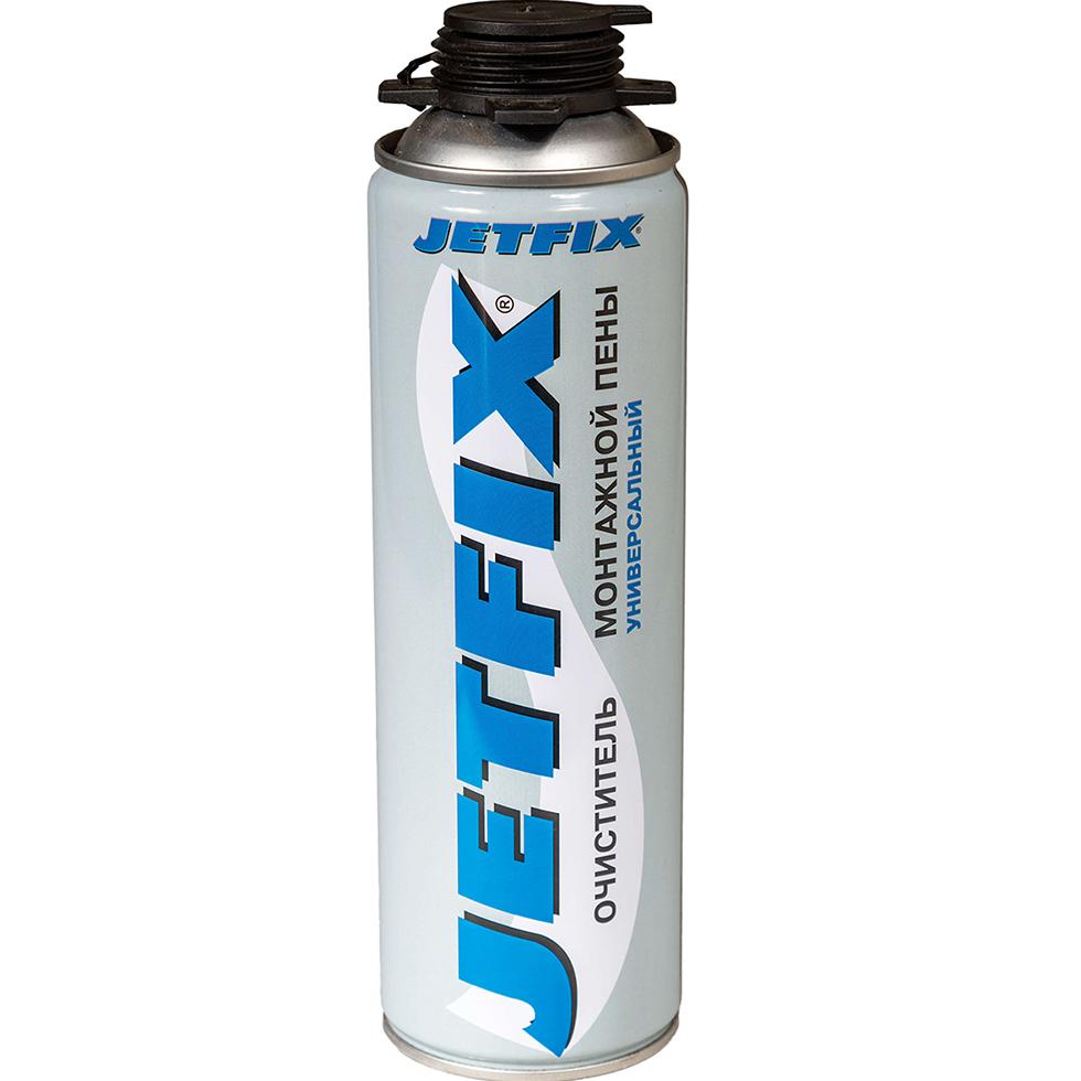 Очиститель монтажной пены JETFIX Универсальный 450 мл очиститель от монтажной пены ремонт на 100% remtcl3700 0 5 л