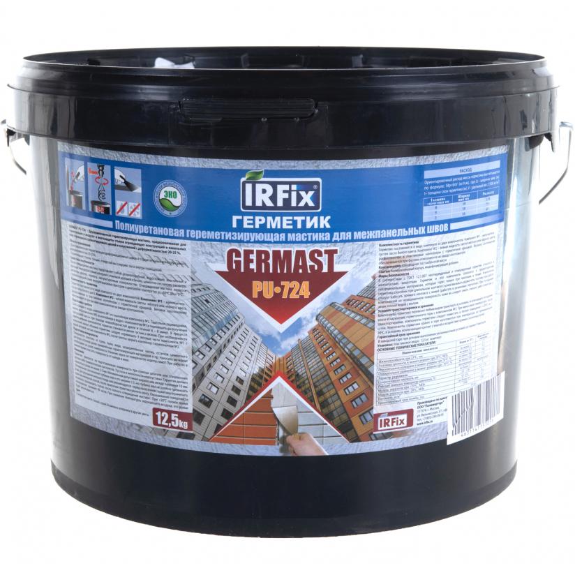 Герметик IRFIX GERMAST PU-724 Серый 12,5 кг