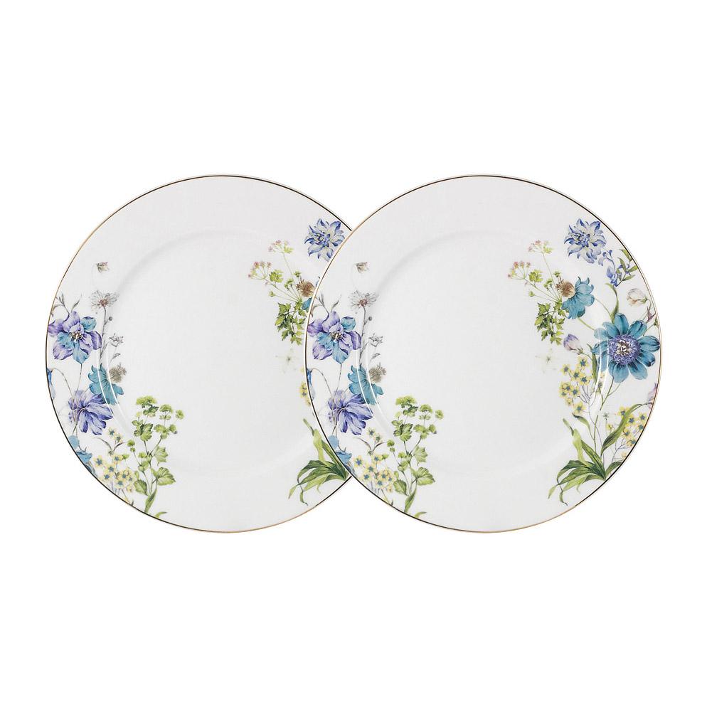 Набор Anna Lafarg Primavera Лазурь из 2-х закусочных тарелок 20 см