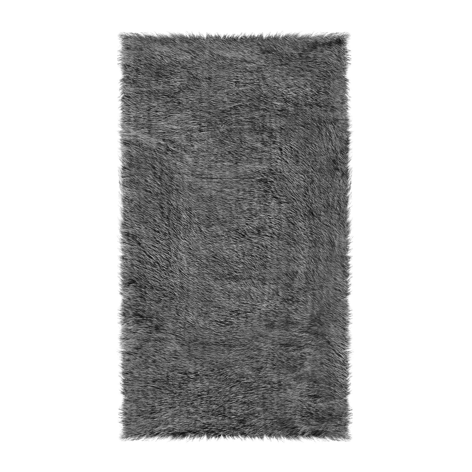 Шкура Ковровые галереи 60х110 овчина d.bl.tip white фото