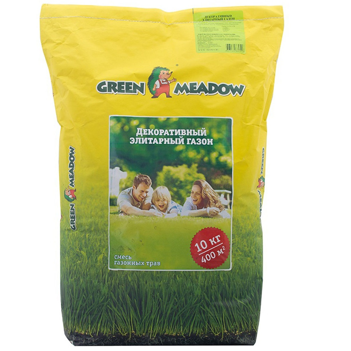 семена green meadow игровой газон 500 г Газон Green Meadow декоративный элитарный 10 кг