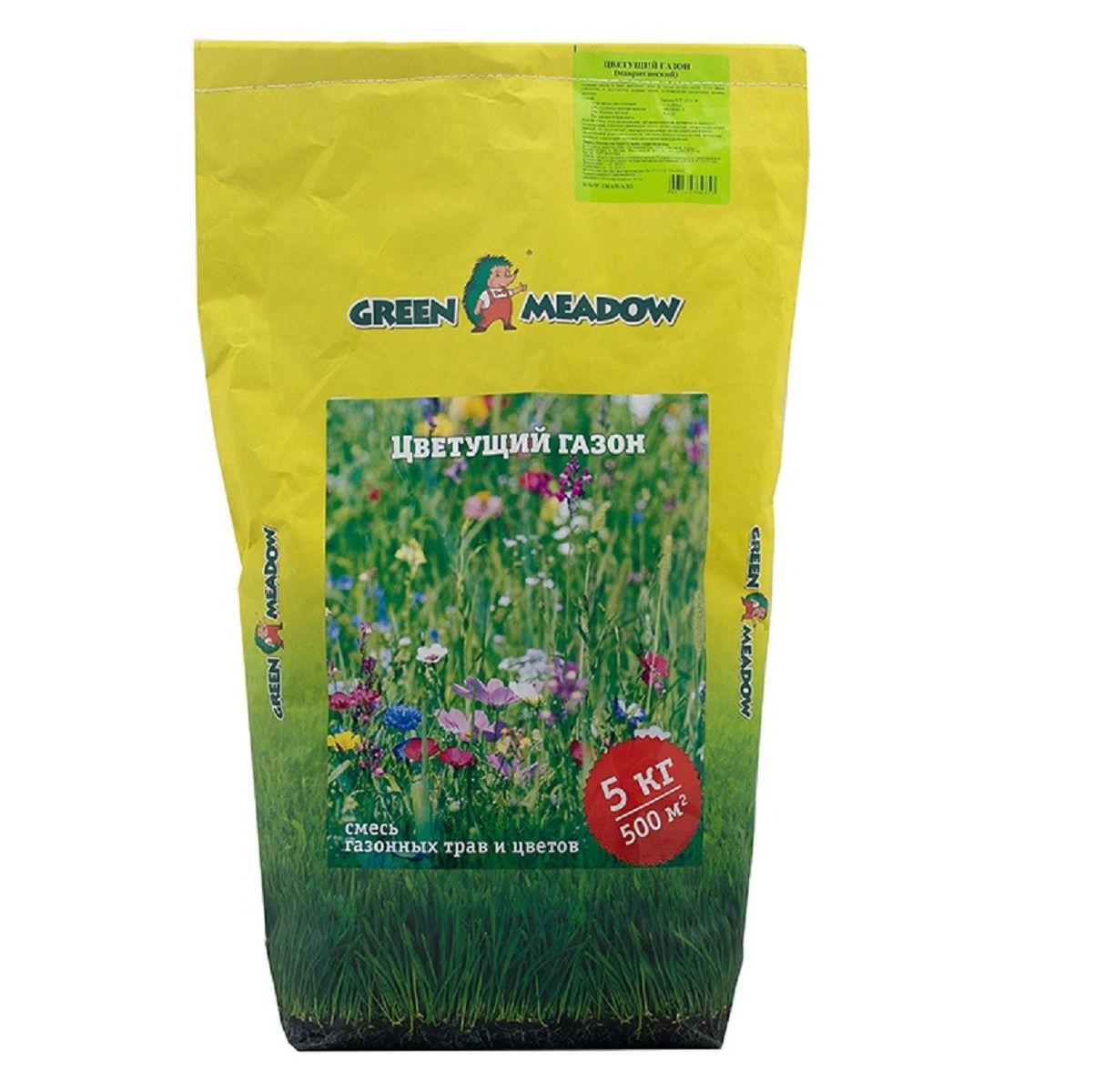Газон Green Meadow цветущий 5 кг