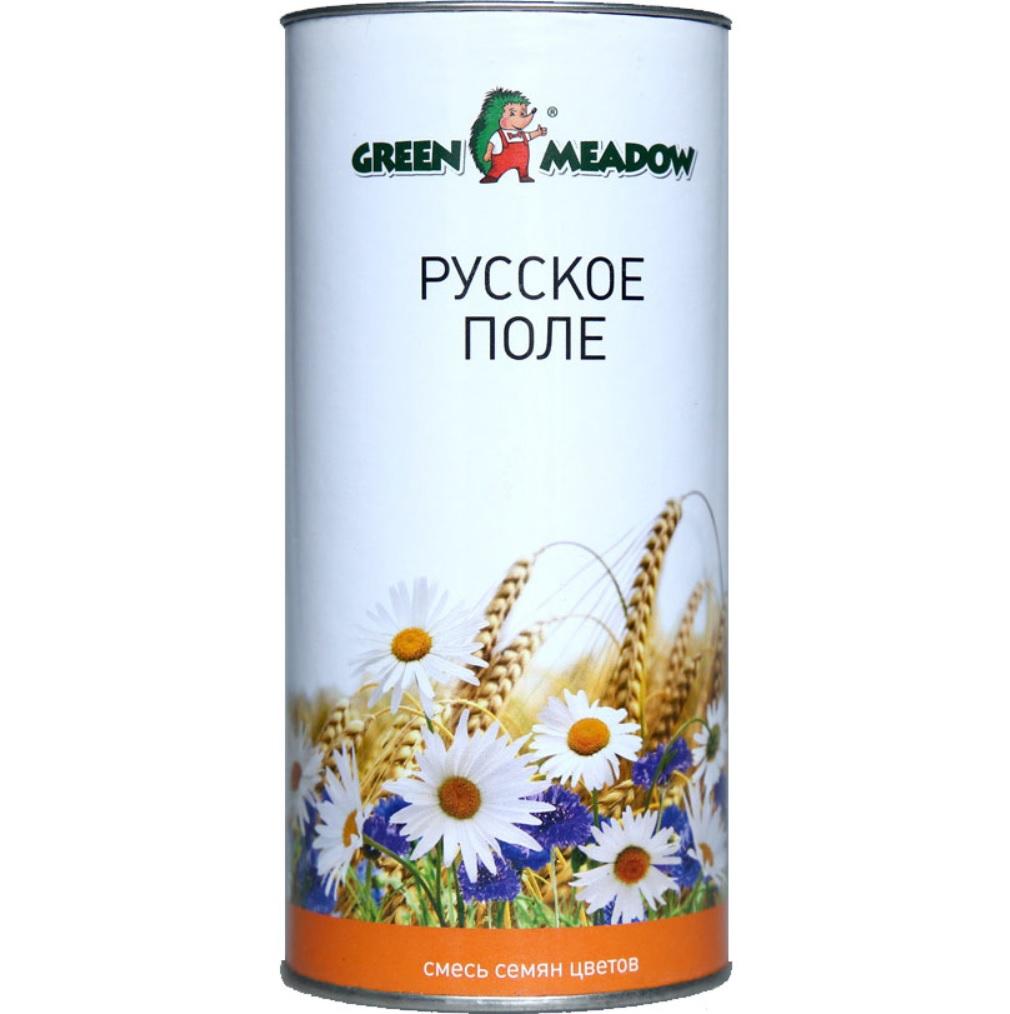 Газон Green Meadow русское поле смесь цветов 0.05 кг смесь семян газонcity настоящий солнечный газон 1 кг