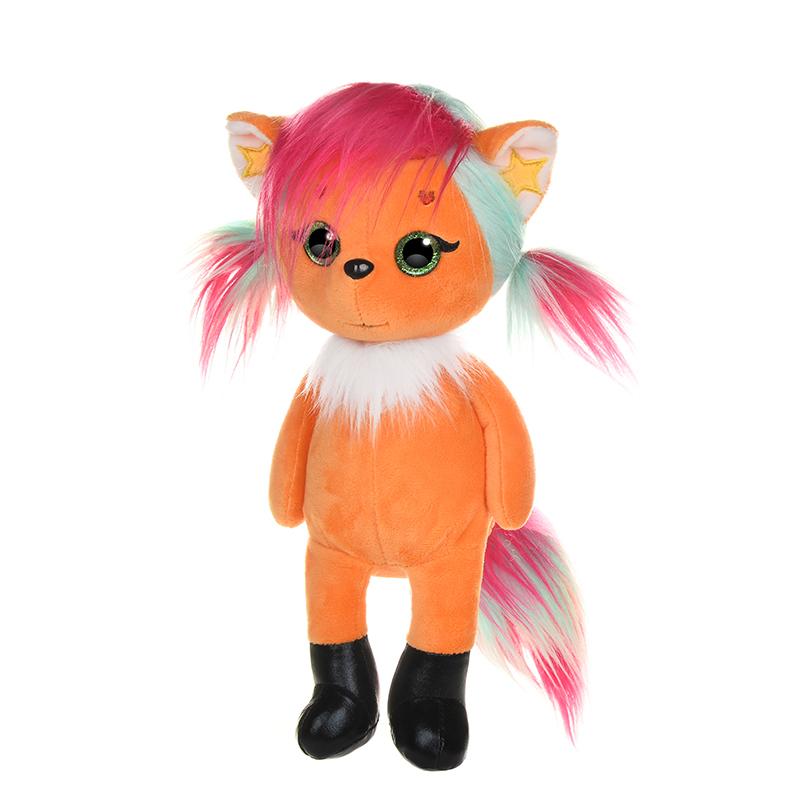 Фото - Игрушка мягкая Maxitoys Maxi Eyes Лисичка Алиса 22 см мягкая игрушка gulliver пушистый хвостик лисичка 30 см