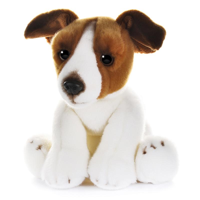 Игрушка мягкая Maxitoys Собака Джек Рассел 30 см фото